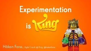 Experimentation is King Lean Kanban Central Europe 2015