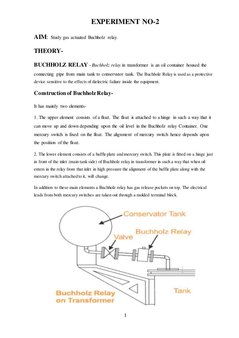 Buchholz Relay Valve Working Principle Experimentno2 150512025331 Lva1 App6892 Thumbnail 4cb1501577155