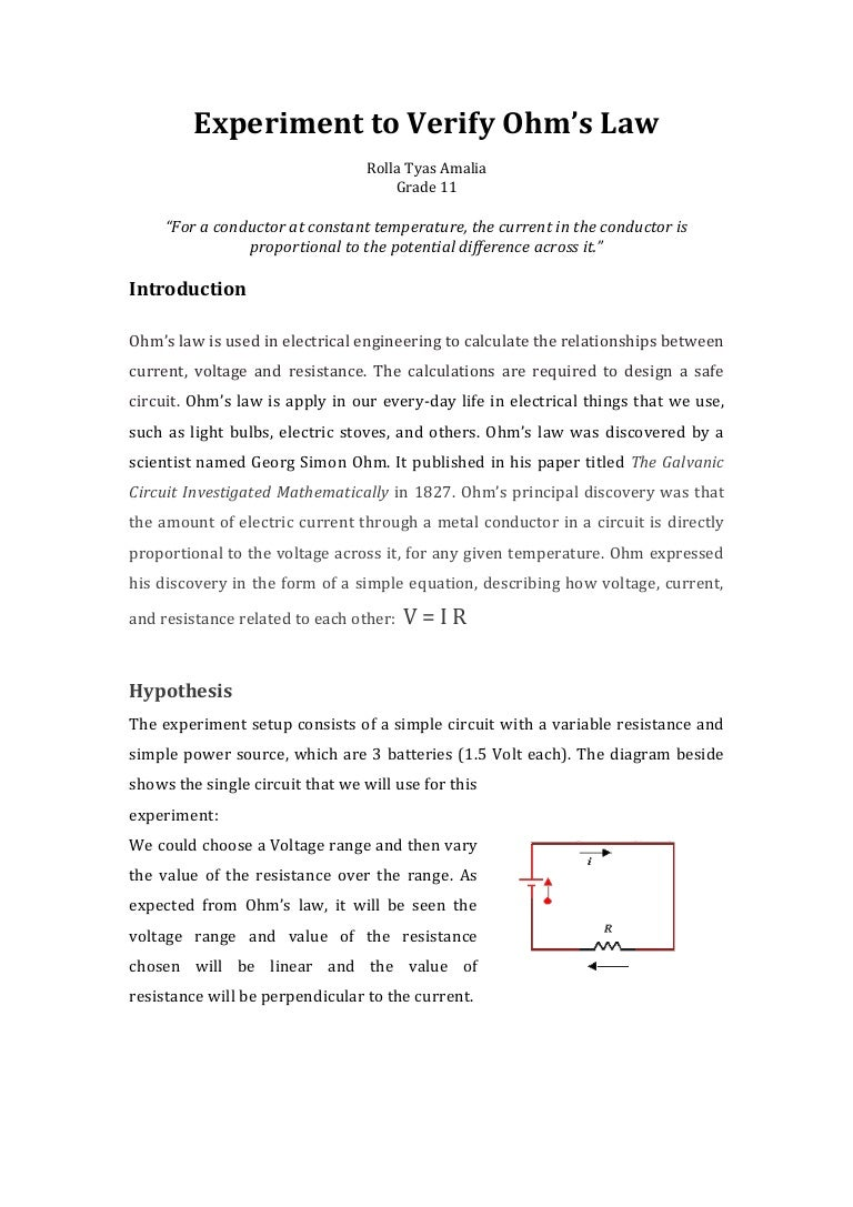 The conclusion is there that the resistance of the conductor depends on the substance from which it is made can be made if the circuit includes 8