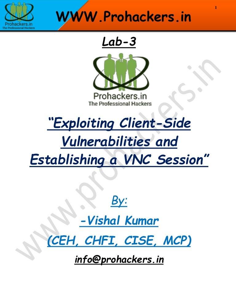 Establishing A Seasonal Capsule Part 1: Exploiting Client-Side Vulnerabilities And Establishing A