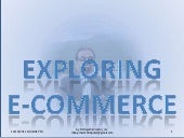 Exploring e commerce