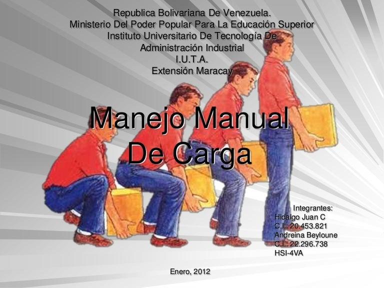 Actualización de guía técnica relacionada al manejo o manipulación.