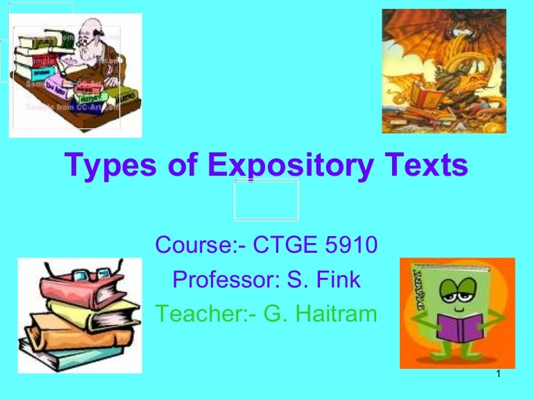expository texts