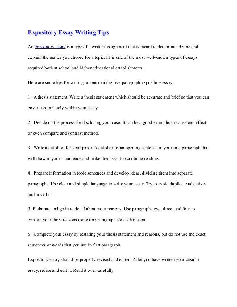 example of expository essay example of an expository essay a  teacher objectives for resume samples resume professional a teacher s guide tips on writing an organized best example of expository essay