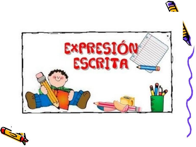 Resultado de imagen de dibujo expresión escrita