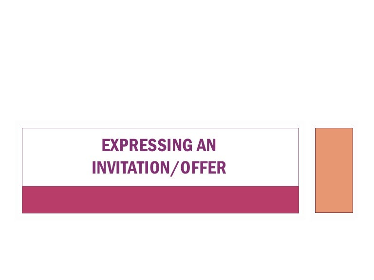 Expressing invitation and offer stopboris Gallery