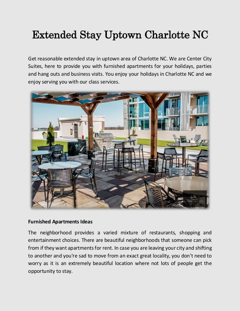 Extended stay uptown charlotte NC