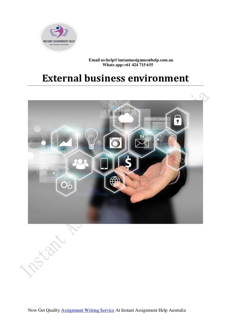 External business environment by experts writers falaconquin
