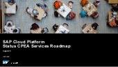 SAP Cloud Platform CPEA Roadmap Services (08.2020)