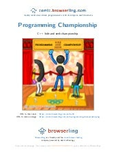 Programming Championship - Webcomic about programmers, web developers and browsers