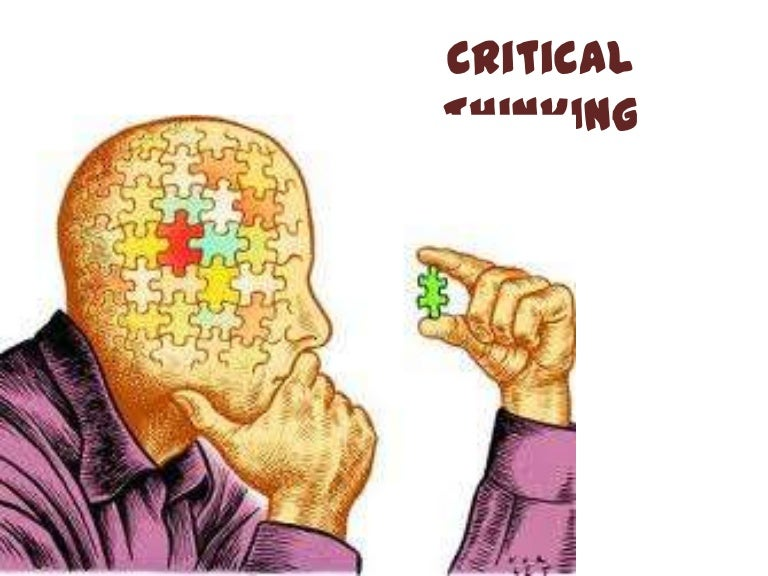 Critical Thinking  Where to Begin