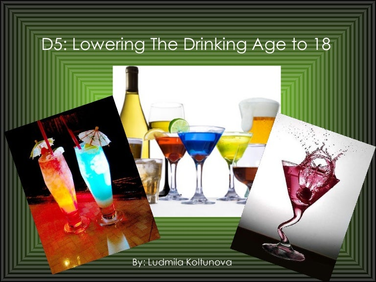 lowering the drinking age to