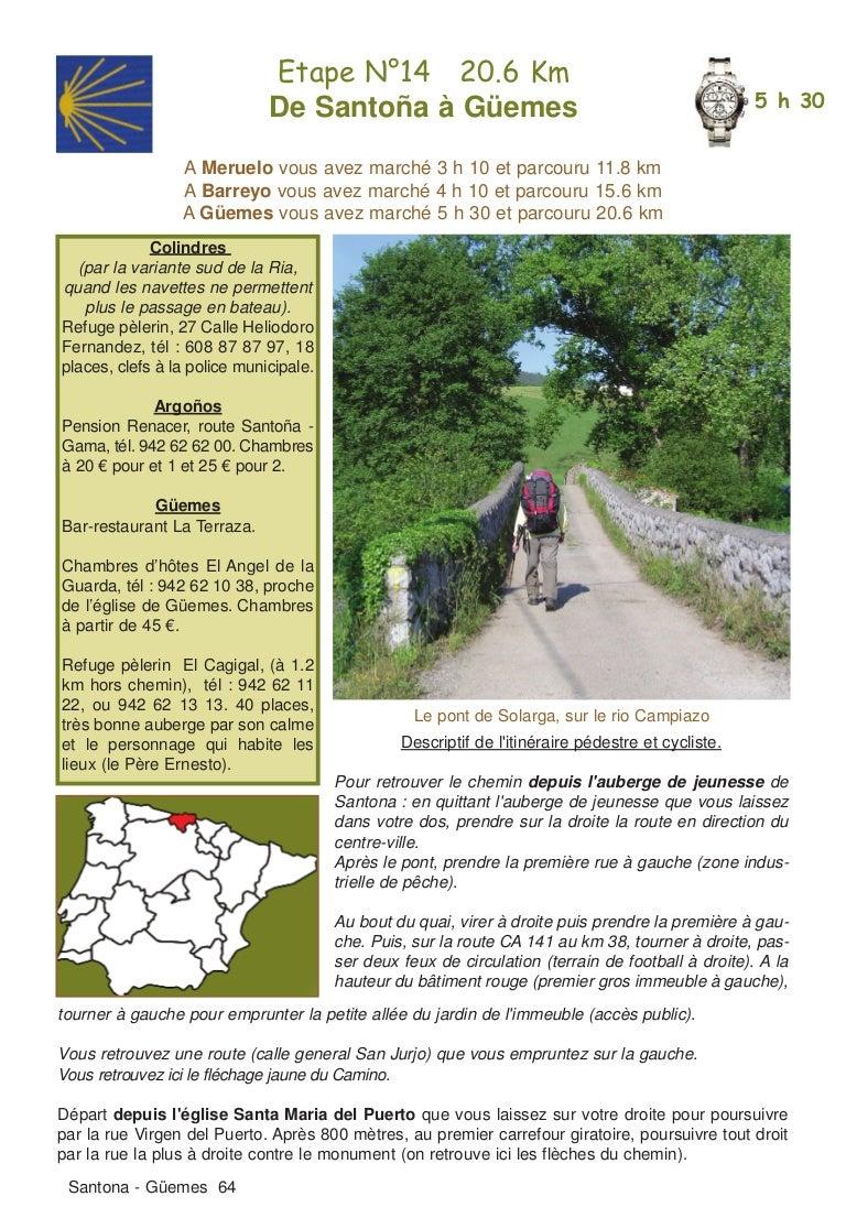 Guide Lepere Camino Del Norte Extrait