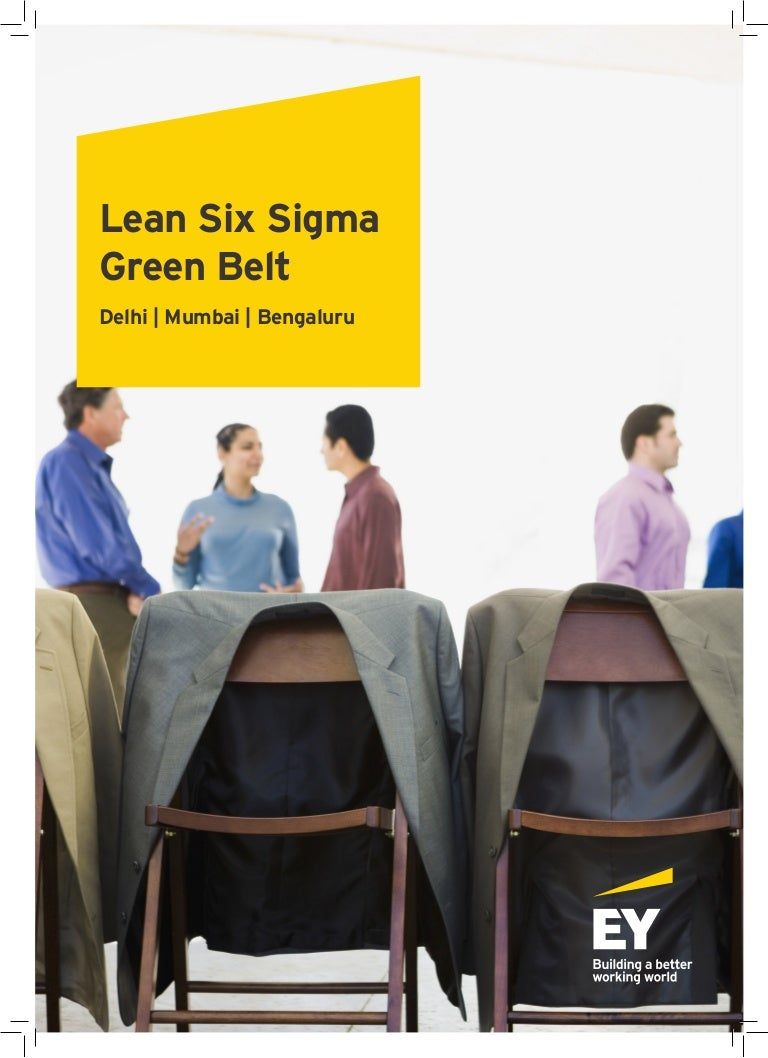 Lean six sigma green belt training certification program ey india 1betcityfo Image collections