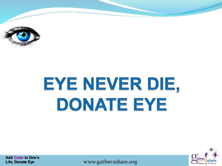 script on eye donation Detect life script by tesnexus8 (/users/863776) from detect life enchantment mod used as a base donation points system this mod is opted-in to receive donation points.