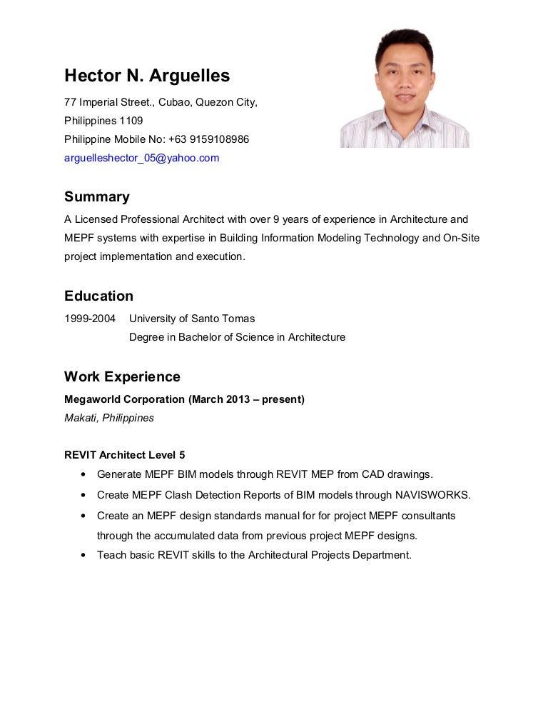 20150114 hector arguelles resume