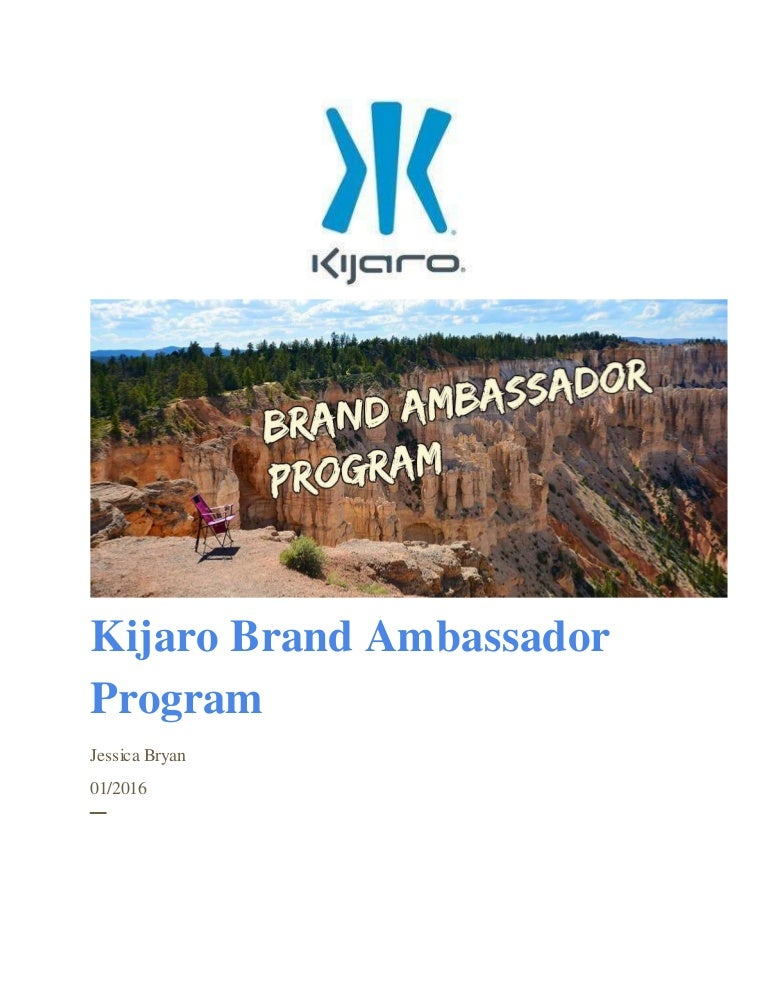 Proposal:Hire brand ambassadors - Strategic Planning