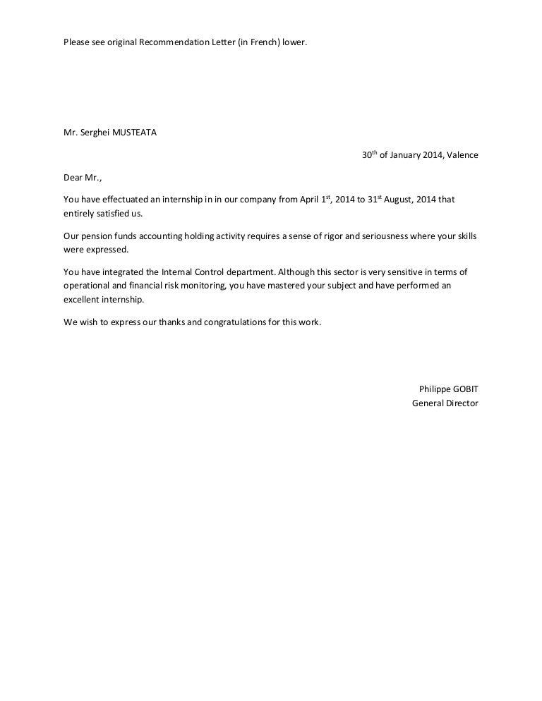 Recommendation letter amundi spiritdancerdesigns Image collections