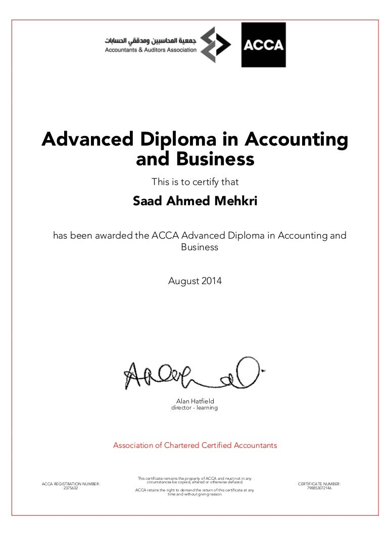 Advace diploma in accounting and finance xflitez Images