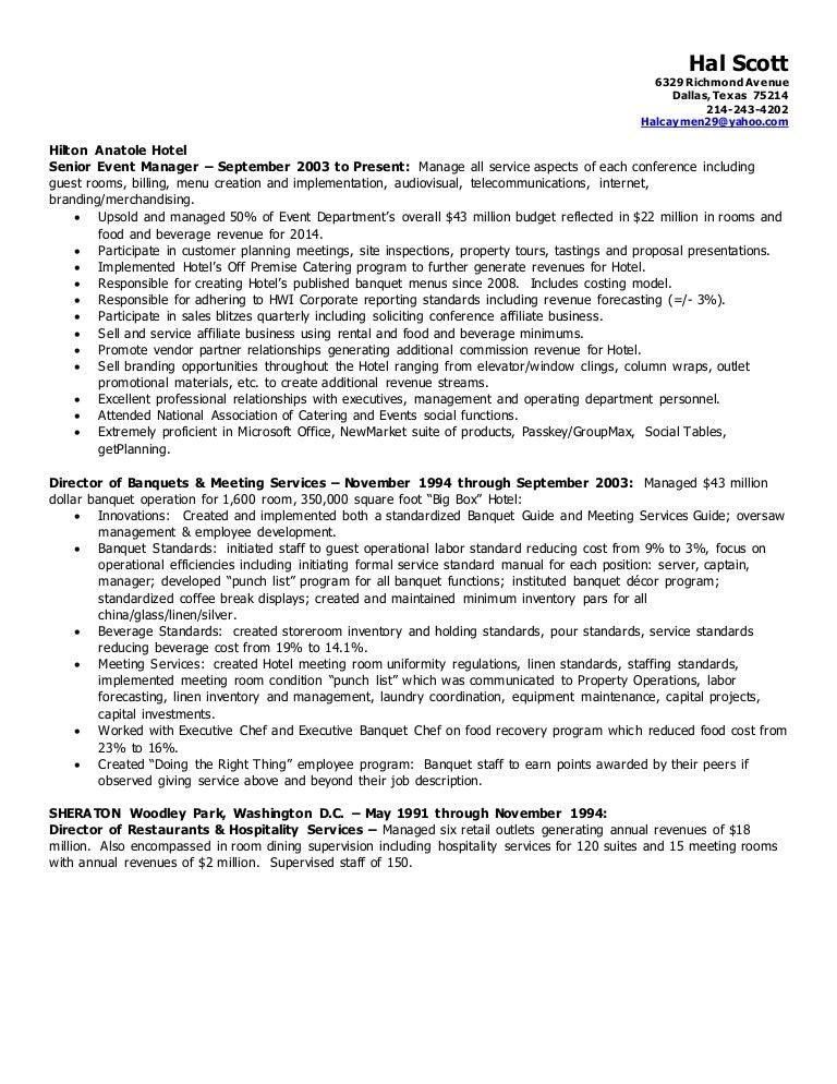 hal scott resume
