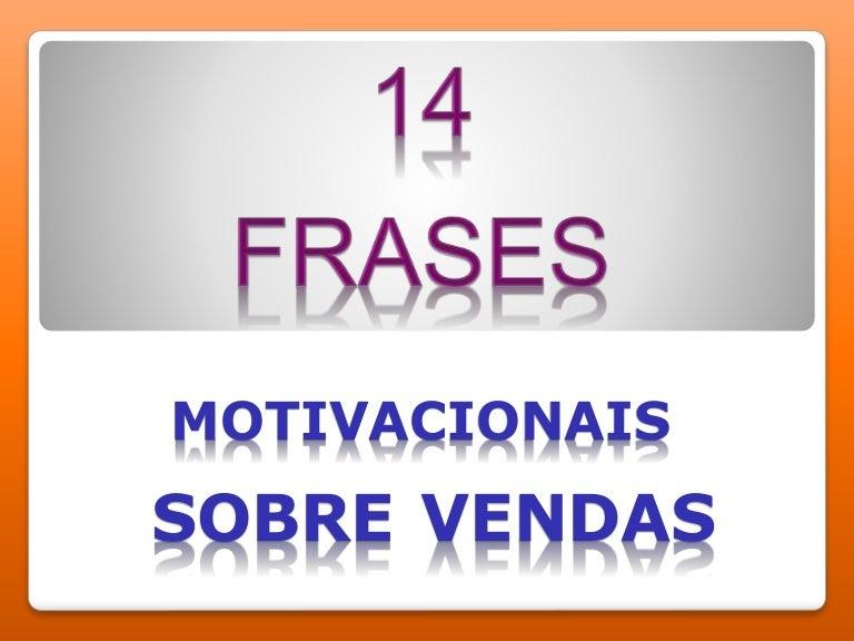 Frases Motivacionais Sobre Vendas