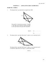 F4 11 Lines And Planes In 3 Dim