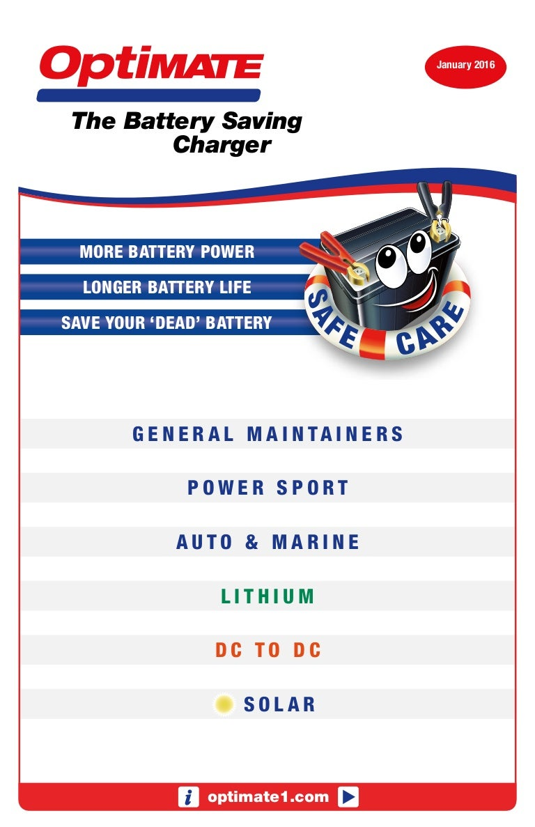 Charger Booklet Sa Sealed Lead Acid Battery Dual Step Current Mode