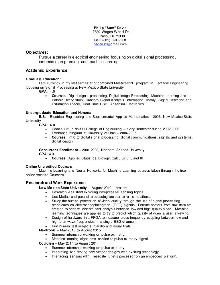 PhilipSamDavisResume