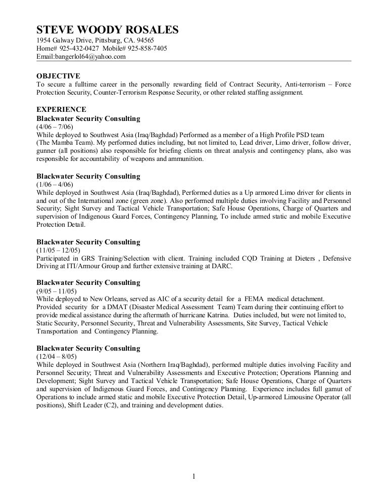 security forces. 4. 2011 resume loren k schwappach. air force ...