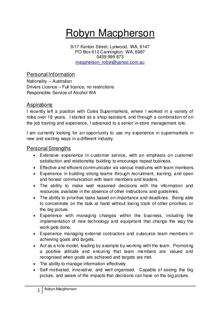 robyn macpherson resume - Junior Financial Analyst Resume