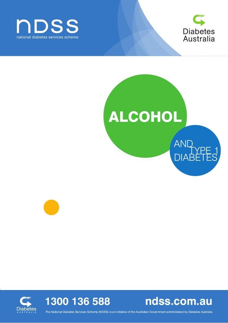 diabetes tipo 1 y alcoholismo