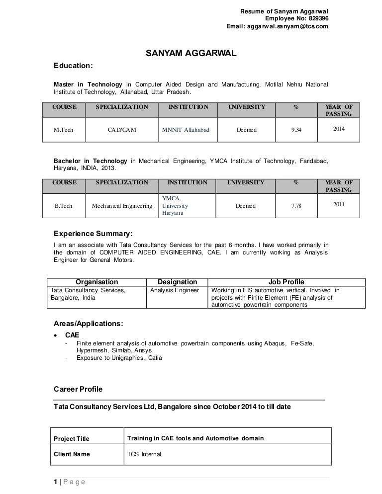 sanyam aggarwal resume