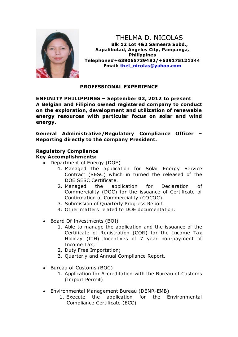Nice Post Resume Online Philippines Images Entry Level Resume