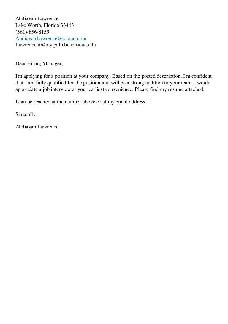 resume cover letter together