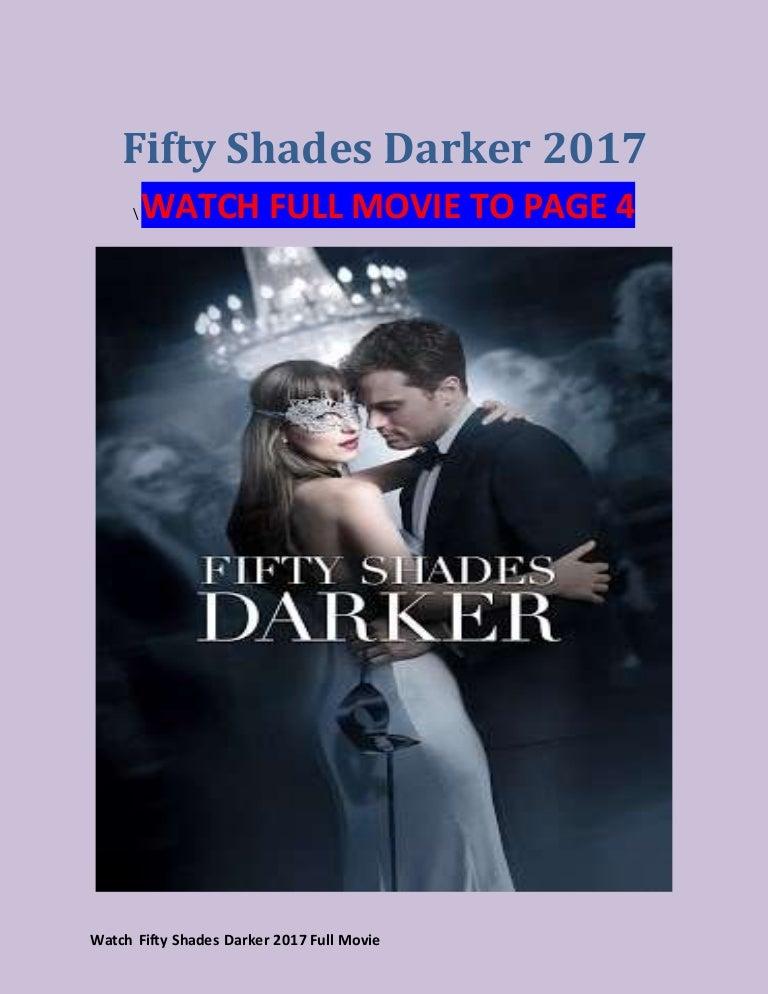 fifty shades darker full movie free online no registration