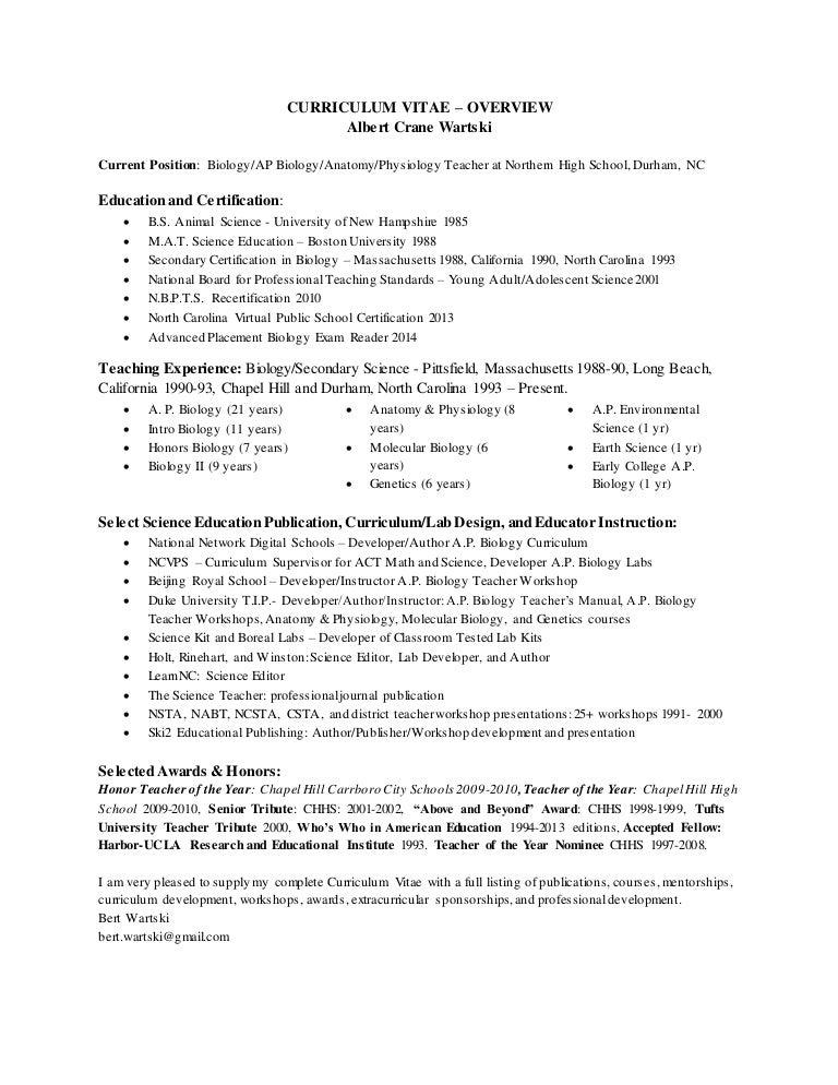 Bert CV overview-1