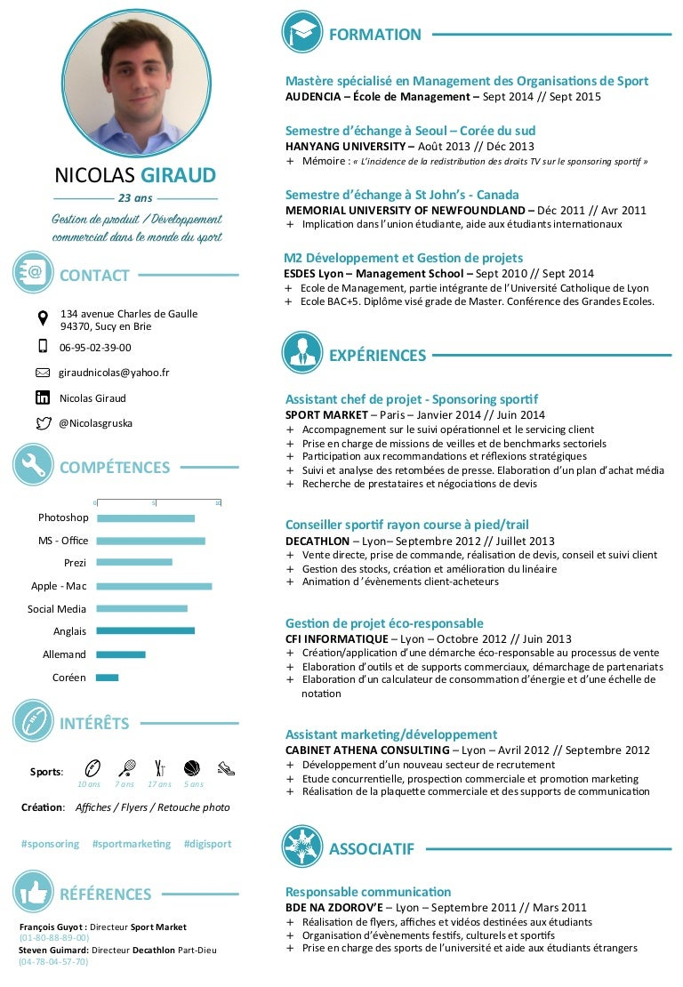 cv nicolas giraud 2015