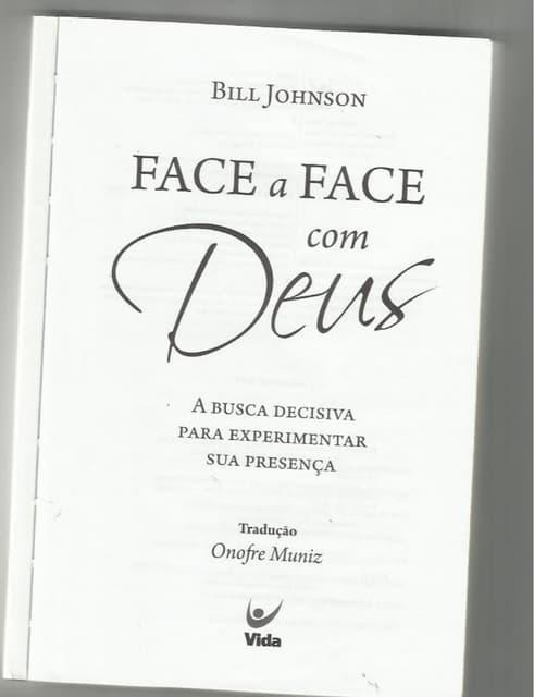 Face a Face com Deus