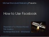 How To Use Facebook for Your Band. Updated for 2016.