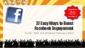37 Easy Ways to Boost Facebook Engagement