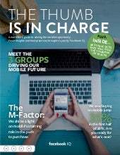 THE THUMB IS IN CHARGE - Facebook IQ Magazine Nr. 1