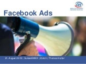 Facebook Ads / SuisseEMEX Referat