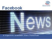 Facebook News / Referat SuisseEMEX