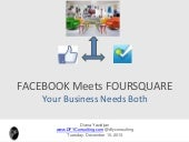 Facebook meets Foursquare