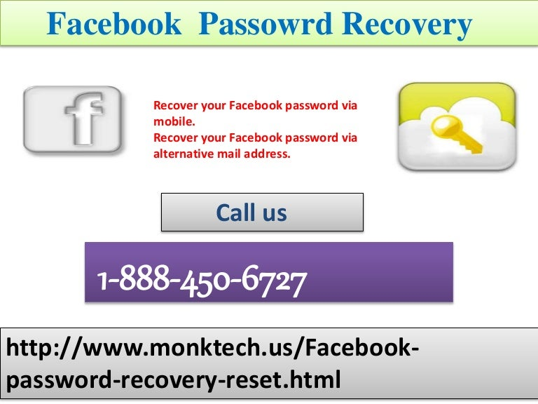 Where to opt for Facebook Password Recovery solution 1-888-450-6727?