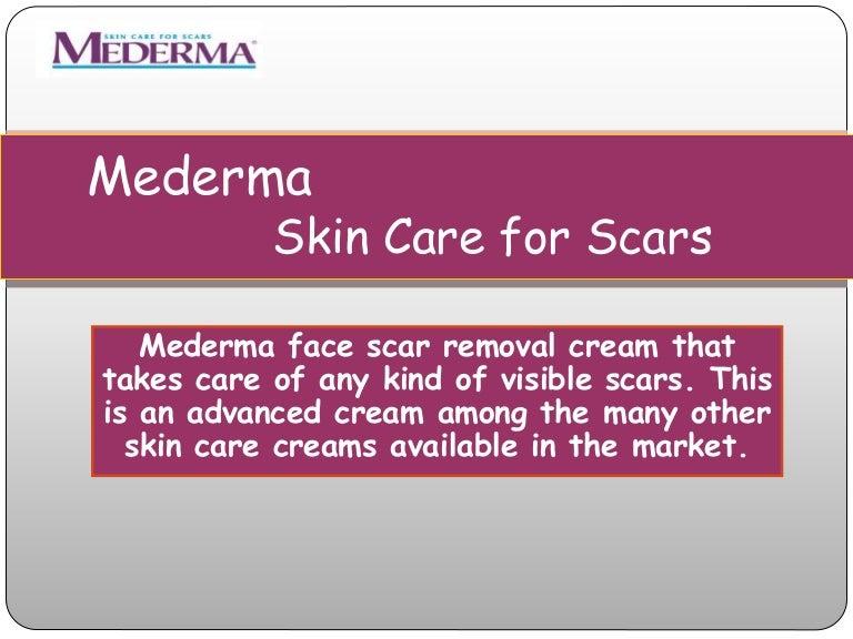 Face Scar Removal Cream Mederma