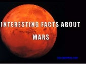 Interesting facts about Mars