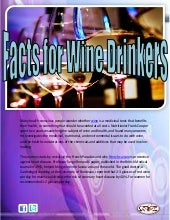 Facts for wine drinkers