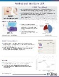Professional Oral Care USA, 2013 Fact Sheet
