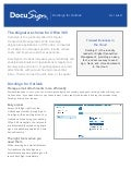 DocuSign Digital Signatures for Outlook